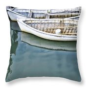Twins Color Throw Pillow