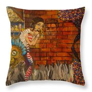 Twisted And Empty Throw Pillow
