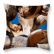 Twisted Bristlecone Pine Throw Pillow
