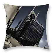 Twisted Nashville Throw Pillow