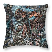 Twistered 2 Throw Pillow