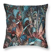 Twistered 3 Throw Pillow