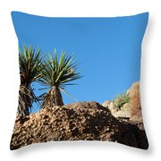 Two Bunch Gold Butte Throw Pillow