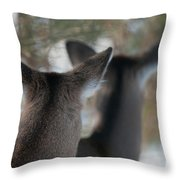 Two Heads Are Better Than One Throw Pillow