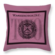 Two In Light Pink Throw Pillow