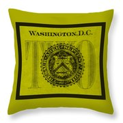 Two In Yellow Throw Pillow