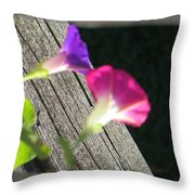 Two Is A Company Throw Pillow