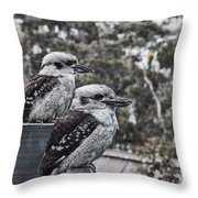 Two Of A Kind V2 Throw Pillow