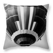 Two Star Balloon Throw Pillow