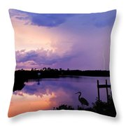 Two Strikes Throw Pillow
