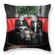 Two Tuxedos Throw Pillow