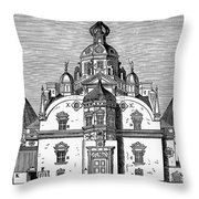 Tycho Brahes Observatory Throw Pillow