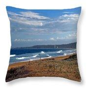 Typical Australian Beach Throw Pillow