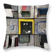 U Turns Throw Pillow