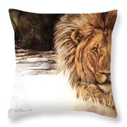 Ubathi Boss Throw Pillow