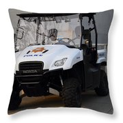 Uc Berkeley Campus Police Buggy  . 7d10184 Throw Pillow