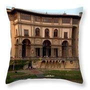 Uffizi Gallery Throw Pillow