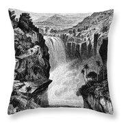 Uganda: Murchison Falls Throw Pillow