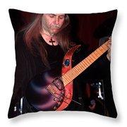 Uli Jon Roth And His Sky Guitar Throw Pillow