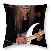 Uli Jon Roth At The Grail 2008 Throw Pillow