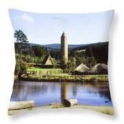 Ulster History Park, Omagh, County Throw Pillow