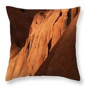 Uluru Australia 7 Throw Pillow