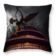 Unchained Protector Throw Pillow