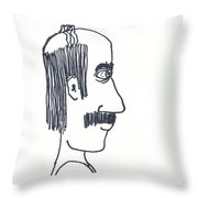 Uncle Lefty Throw Pillow