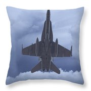 Under Belly V2 Throw Pillow