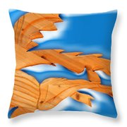 Under The Glass Throw Pillow