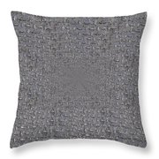 Under The Man Hole Cover Throw Pillow
