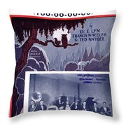 Under The Moon 2 Throw Pillow
