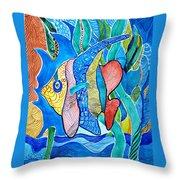 Under The Sea Throw Pillow