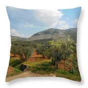 Under The Tuscan Skies Throw Pillow