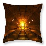 Underground 11 Throw Pillow