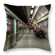 Underground Life Throw Pillow