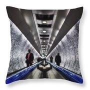 Underground Network Throw Pillow