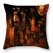 Underground Splendor Throw Pillow