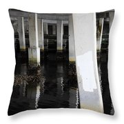 Underpass The Reflections  Throw Pillow
