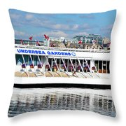 Undersea Gardens Throw Pillow