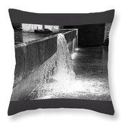 Uneven Flow Throw Pillow