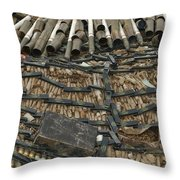 Unexploded Ordnance Ready Throw Pillow