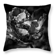 Unfurled Throw Pillow