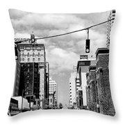 Union Avenue Memphis Throw Pillow