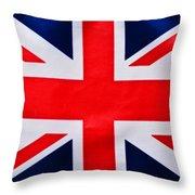 Union Flag Throw Pillow