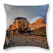 Union Pacific 6807 Throw Pillow