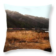 Union Pacific Locomotive Trains . 7d10546 Throw Pillow