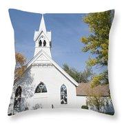 United Methodist Church Townsend Mt Throw Pillow