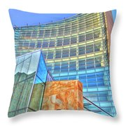 United States Court House Throw Pillow