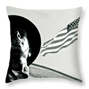 United We Stand Theme Throw Pillow